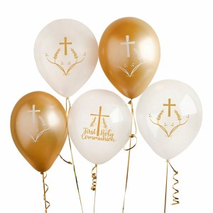 5 Pack Communion Balloons