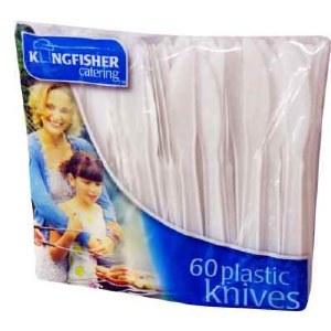 60Pk Of Plastic Knives