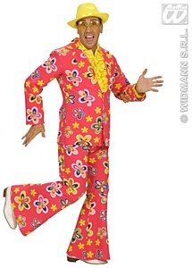 Flower Party Suit Costume