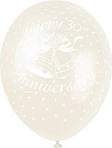 30th Anniversary Balloons