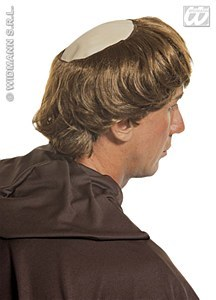 Monk Bald Wig