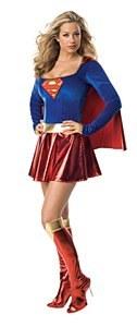 Supergirl Fancy Dress Costume