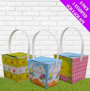 8Pk Mini Easter Baskets