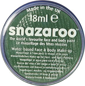 Grass Green Snazaroo FacePaint
