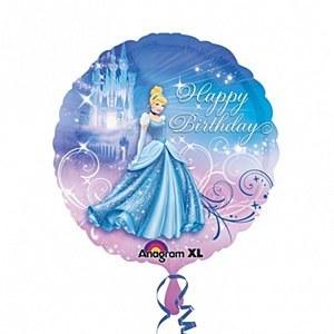 Cinderella Birthday Balloon