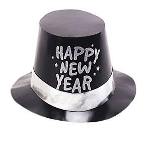 Glitter New Years Hat