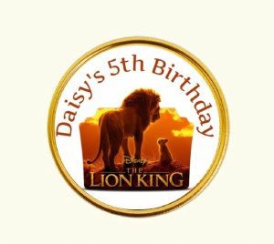 15Pk Lion King Coins