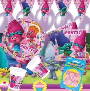 Trolls Deluxe Party Bundle 8pk