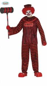 Adult Psycho Clown Costume