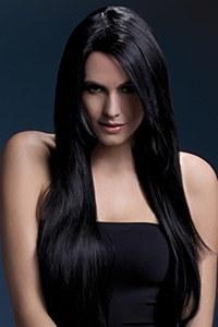 Amber Black Wig