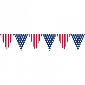 American Pennant Banner