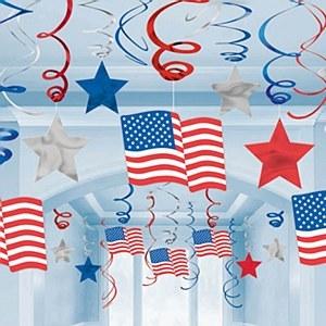 American Swirl Decoration