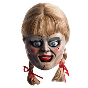 Annabelle Mask and Wig