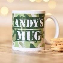 Army Camouflage Mug