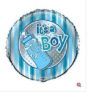 Baby Boy Helium Balloon