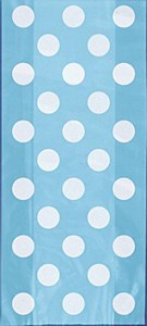 Baby Blue Dots Gift Bags