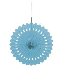 Baby Blue Fan Decoration