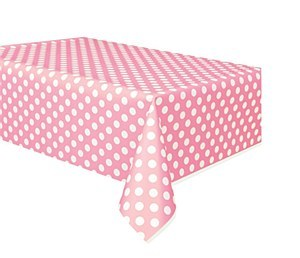 Baby Pink Dots Table Cover