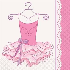 Ballerina Napkins