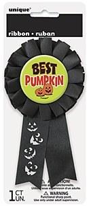 Best Pumpkin Award Ribbon