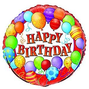 Birthday Balloons Foil Balloon
