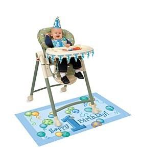 Birthday Boy Highchair Kit