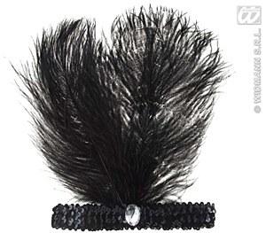 Black Charlestown Headband