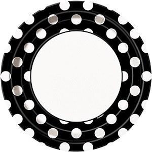 Black Dots Plates