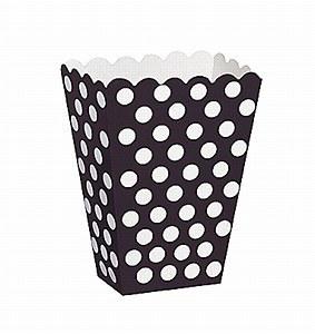 Black Dots Treat Boxes