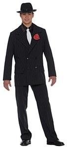 Black Gangster Costume