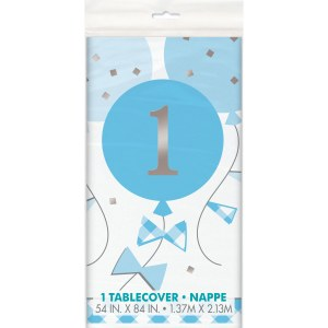 Blue Gingham 1st Tablecover