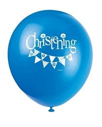 Blue Bunting Balloons