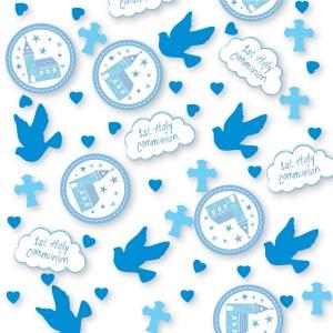 Blue Church Communion Confetti
