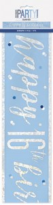 Blue Dots Glitz 16th Banner
