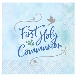 Blue Dove Communion Napkins