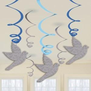 Blue Dove Communion Swirls