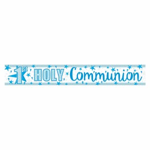 Blue Star Communion Banner