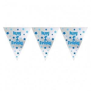 Boys 1st Birthday Bunting