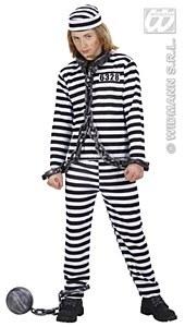 Boys Convict Costume