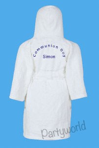 Boy's Communion Dressing Gown