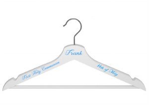 Boys Communion Suit Hanger