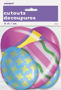 Bright Egg Cut Outs