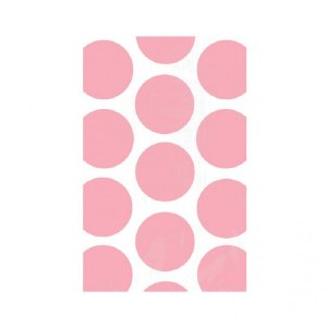 Bright Pink Dots Bags