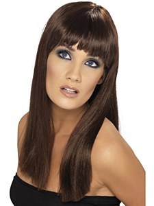 Brown Glamour Wig