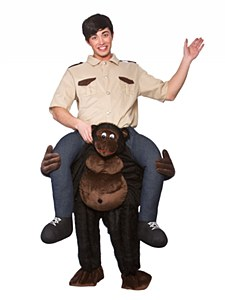 Carry Me Gorilla Costume
