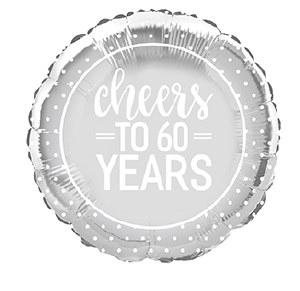 Cheers To 60 Years Balloon