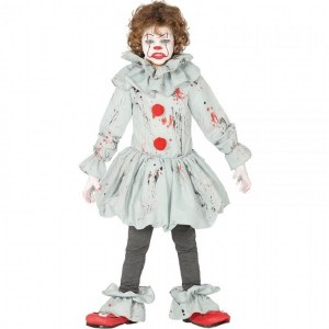 Childs Crazy Clown Costume
