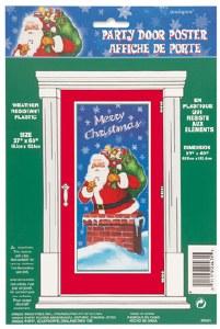 Christmas Door Poster