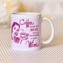 Coffee Keeps Me Busy Mug