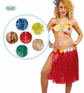 Coloured Hawaiian Skirt